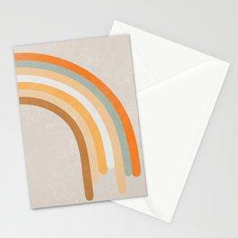 Retro Rainbow 70s colors #art print#society6 Stationery Cards