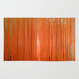 ORANGE STRINGS Rug