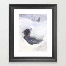 Once Was Lost Framed Art Print