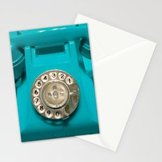 OLD CYAN PHONE - for IPhone Stationery Cards