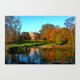 Colourful Pittville Canvas Print