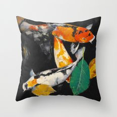 Around and About Throw Pillow