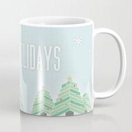 Happy Holiday Trees Coffee Mug