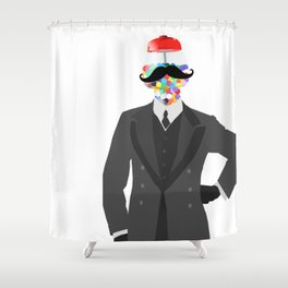 The Candy Dandy Shower Curtain