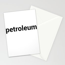 petroleum Stationery Cards