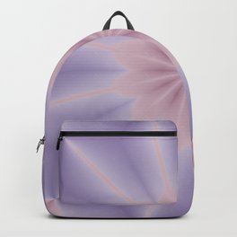 Pink and Lilac 3D Flower Three Backpack