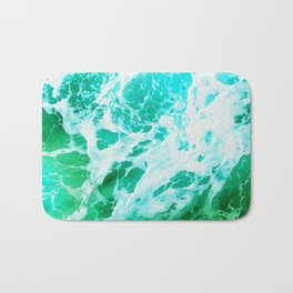 Out there in the Ocean II Bath Mat