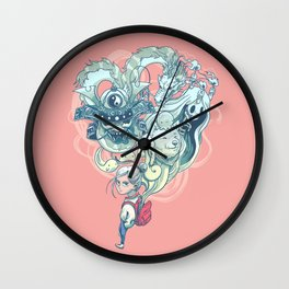Pocket Ghosts Wall Clock