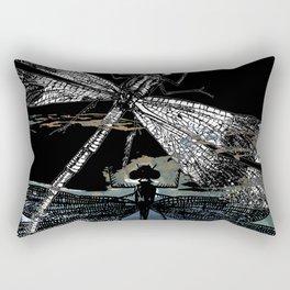 DRAGONFLY meets a FRIEND II Rectangular Pillow