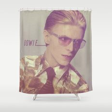Bowie X Shower Curtain