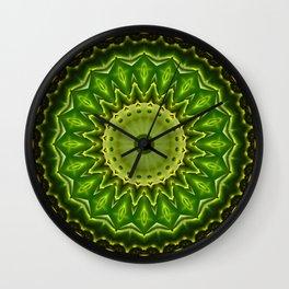 Aloe Wall Clock