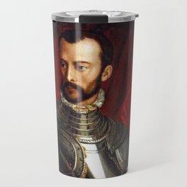 Lorenzo Medici in Gothic Armor Travel Mug