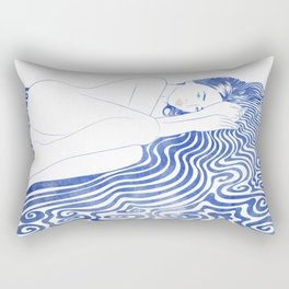 Water Nymph XXVIII Rectangular Pillow