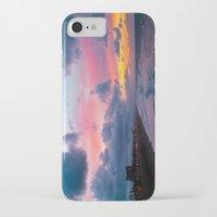 calendars iPhone & iPod Cases featuring Huntington Beach Sunrise 1/31/14 by John Minar Fine Art Photography