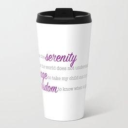 Autism Serenity Travel Mug