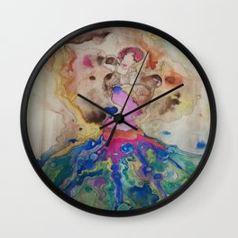 Wardrobe Malfunction Wall Clock