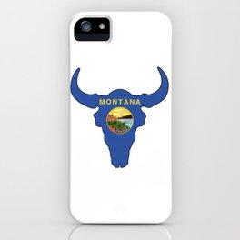 Montana Bison iPhone Case