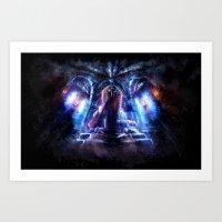 castlevania Art Prints featuring Castlevania: Vampire Variations- Dracula by LightningArts