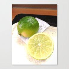 Limes Canvas Print