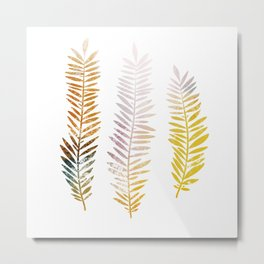 Botanical illustration Metal Print