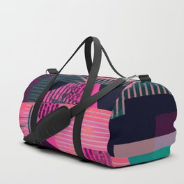 Borders in the Fourth Dimension Duffle Bag