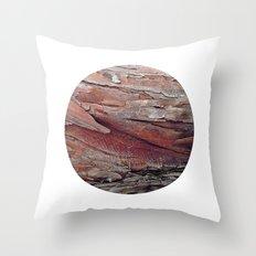 Planetary Bodies - Bark Throw Pillow