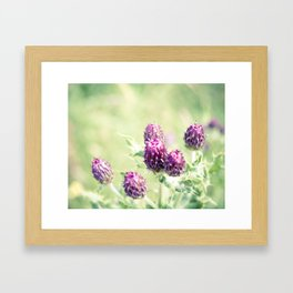 Call Me Violet Framed Art Print
