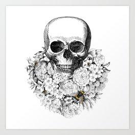 SKULL Art Print