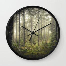 I never sleep Wall Clock