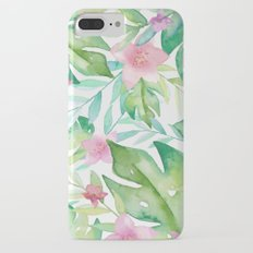 FLOWERS WATERCOLOR 17 iPhone 8 Plus Slim Case