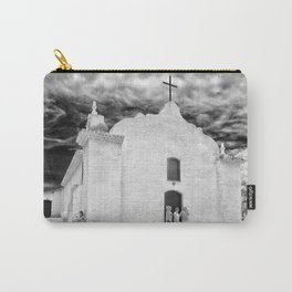 Church Black and White Carry-All Pouch