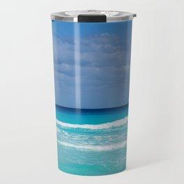 Scenic Turquoise Tropical Beach Travel Mug