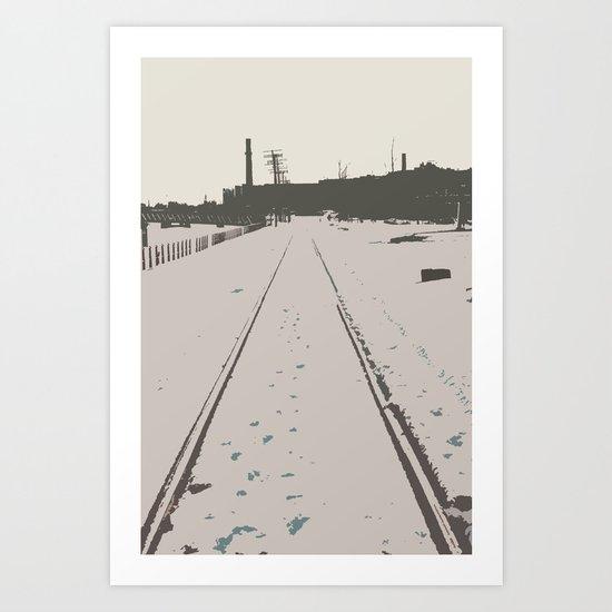 route Art Print