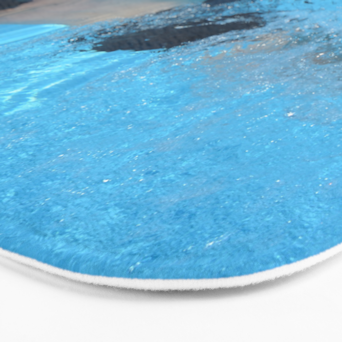 Pool - Beach - Ocean - Blue Water - Summer - Swimming Bath Mat