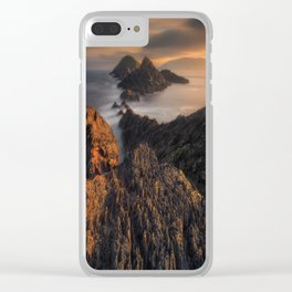 Let This Moment Last Clear iPhone Case