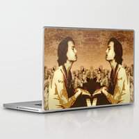 johnny depp Laptop & iPad Skins featuring Johnny Depp by victorygarlic