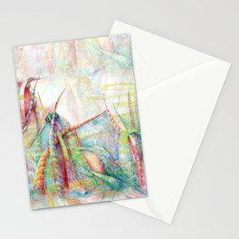 Vegetal color chaos Stationery Cards