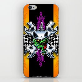 Gear Head  iPhone Skin