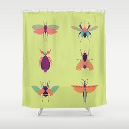 Bug Me Shower Curtain