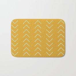 V / Yellow Bath Mat