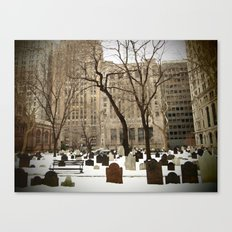 American Stock Exchange Canvas Print