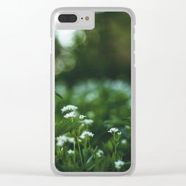 Flower photography by stephan cassara Clear iPhone Case