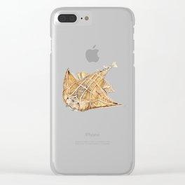 Angel shark Clear iPhone Case