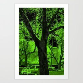 The Respite from THE RISING Art Print