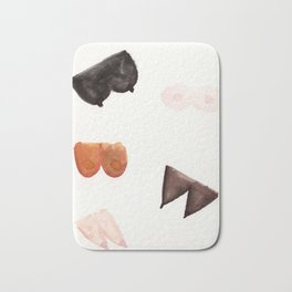 Boob Party Bath Mat
