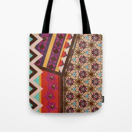 Zimbabwe Multi With Texture Tote Bag