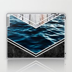 Striped Materials of Nature IV Laptop & iPad Skin