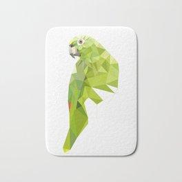 Parrot art Southern mealy amazon parrot Bath Mat
