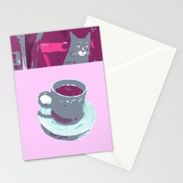 Coffee with Henry #6 Stationery Cards