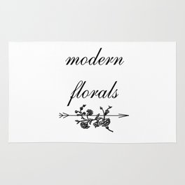 modern florals 2 . Home Decor Graphicdesign Rug